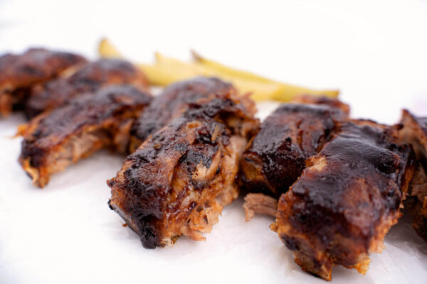 Scăricică de Porc în sos BBQ