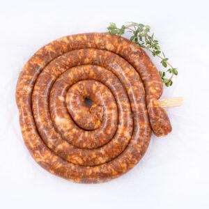 un carnacior cocktail sub forma de spirala